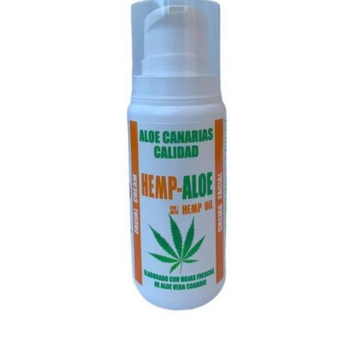 Crema facial aloe y aceite de cáñamo (100ml)