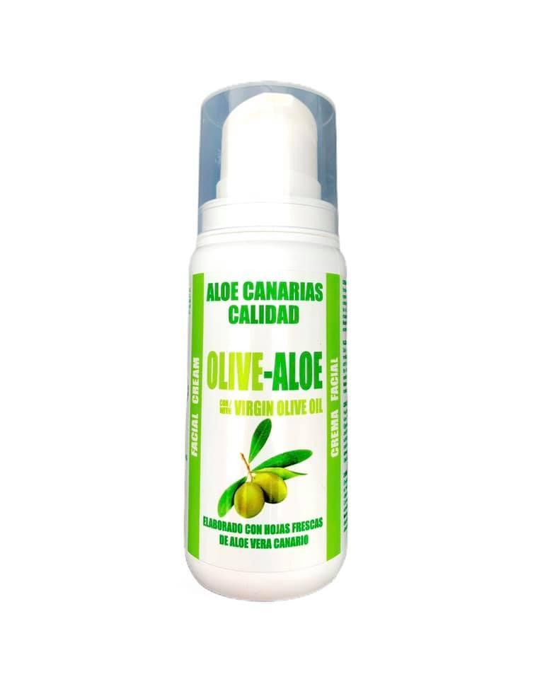 Crema facial aloe y aceite de oliva (100ml)