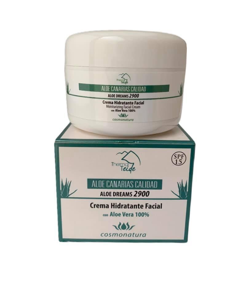 Crema facial hidratante SPF15 (100ml)