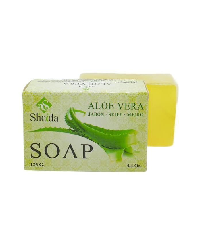 Jabón de aloe vera (125grs) Sheida