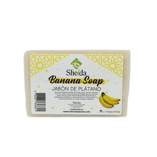 Jabón  de plátano (125grs) SHEIDA