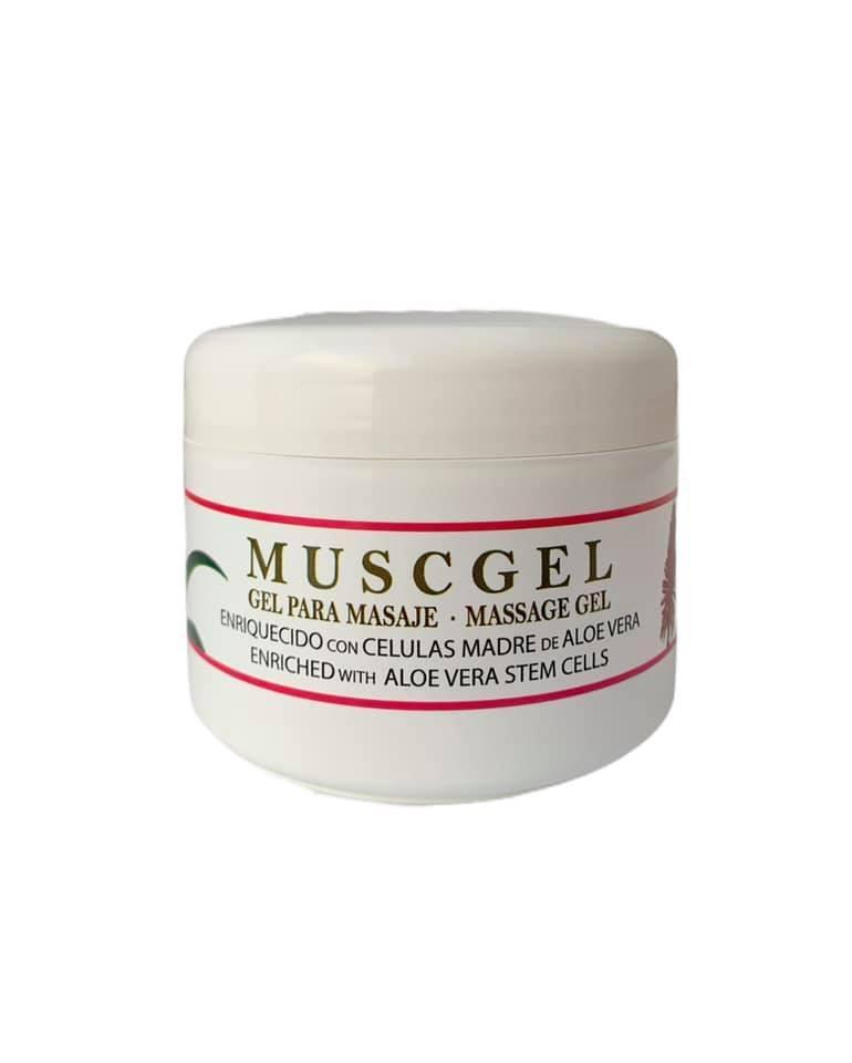 Gel muscular Musgel con células madres (200ml)