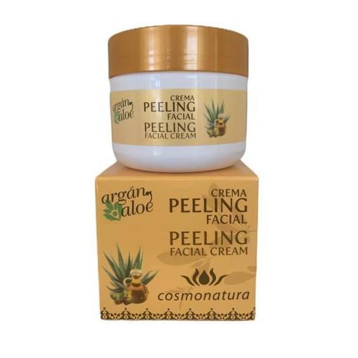 Peeling facial argán y aloe (100ml)