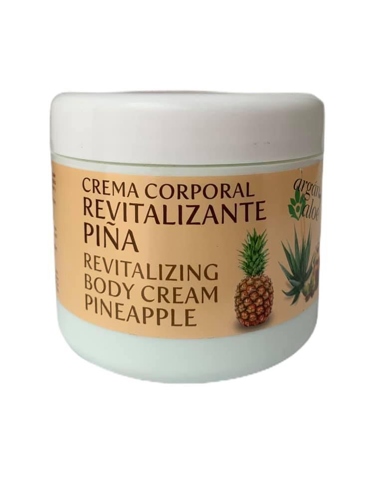 Crema corporal con piña y aceite de argán (500ml)
