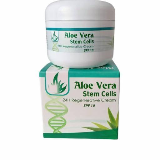 Crema regeneradora con células madre de aloe vera (140ml)