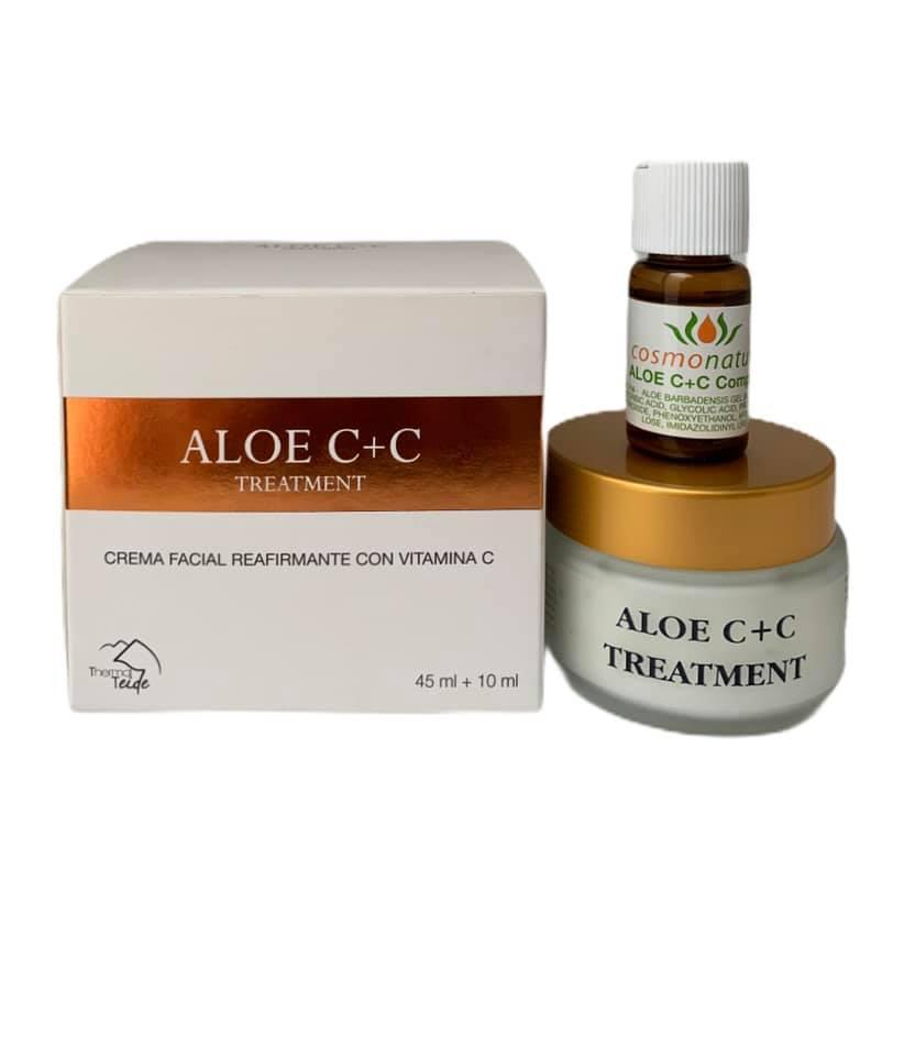 Crema facial reafirmante con vitamina C (45+10ml)