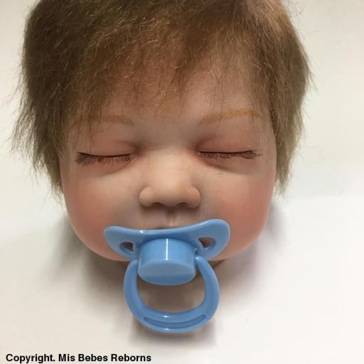 Cabecita  muñeca Reborn modelo Ainhoa Dormida [1]