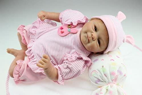 Muñeca Reborn Articulada Dormida; Ana