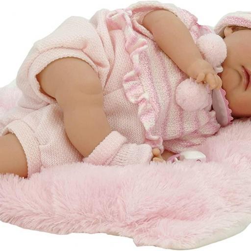 Muñeca Reborn Dormida Nines Artesanal (Mi Bebito) [2]