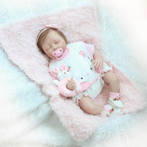 Muñeca Reborn Articulada Dormida; AINOA [2]