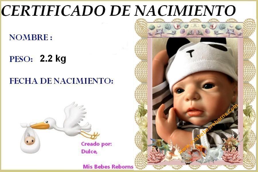 Certificado de Nacimiento Gratuito de LUCAS