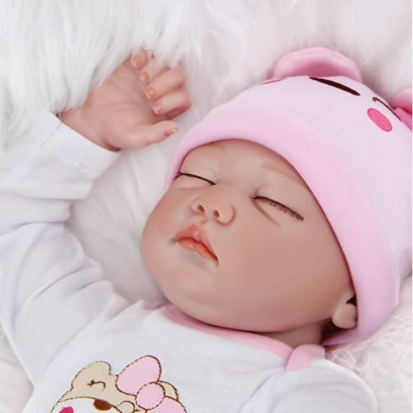 Original muñeca Reborn dormida Martina, preciosa !