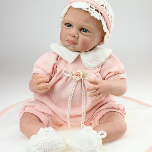 Muñeca Reborn Articulada Despierta; NADIA