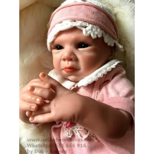 Muñeca Reborn Articulada Despierta; NADIA [3]