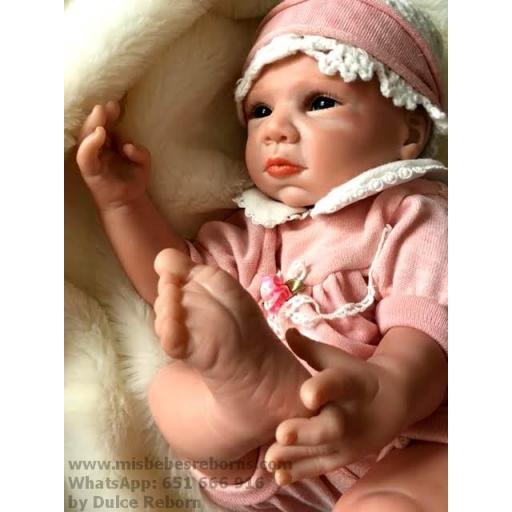 Muñeca Reborn Articulada Despierta; NADIA [1]