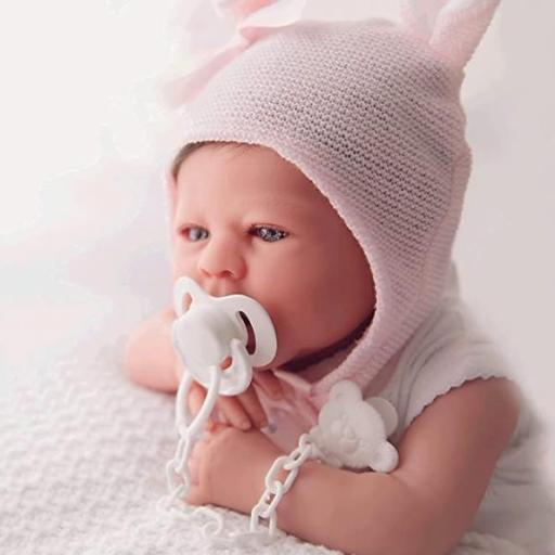 Bebe Reborn 48cm 1,8 kg pliegues y rojeces,. [1]