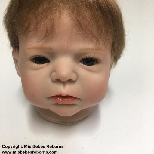 Cabecita de muñeco Reborn modelo LUCAS