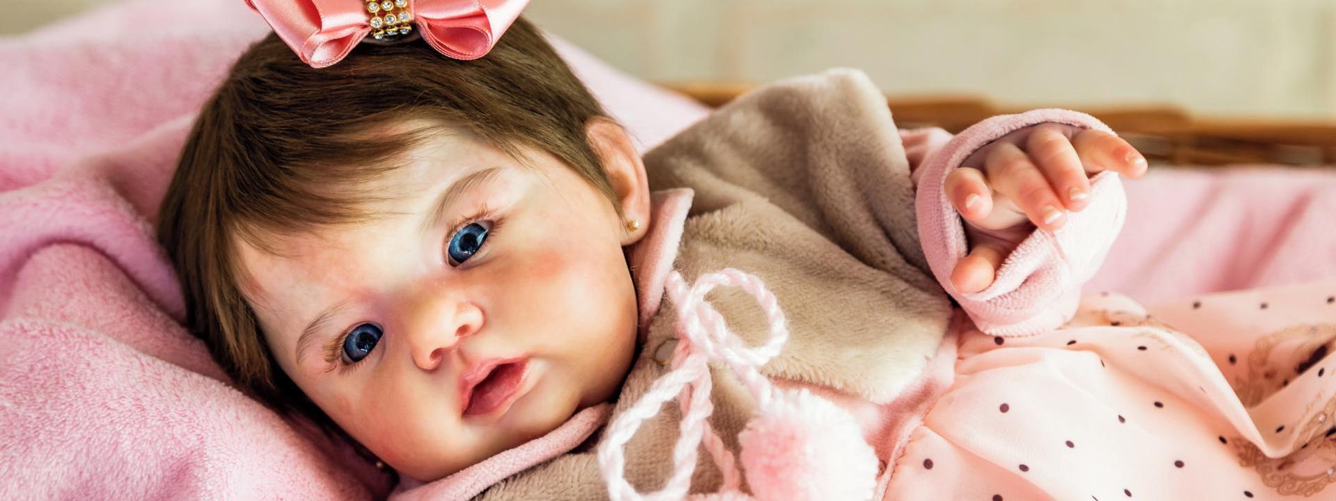 ¿Cómo es una muñeca Reborn con cuerpo de tela?