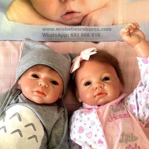 Exclusiva pareja de Mellizos Reborn;  Rebeca y Lucas [1]