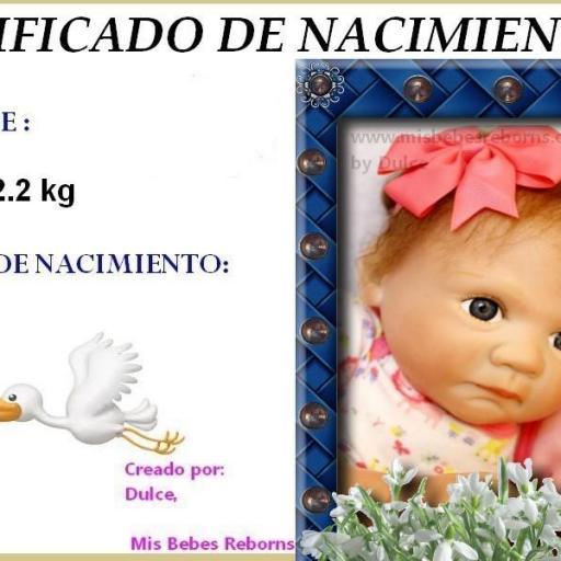 Certificado de Nacimiento Gratuito de TATIANA [0]