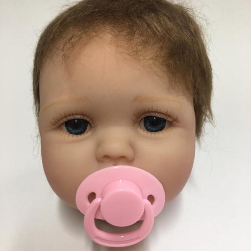 Cabecita de muñeca Reborn modelo ADELE [2]