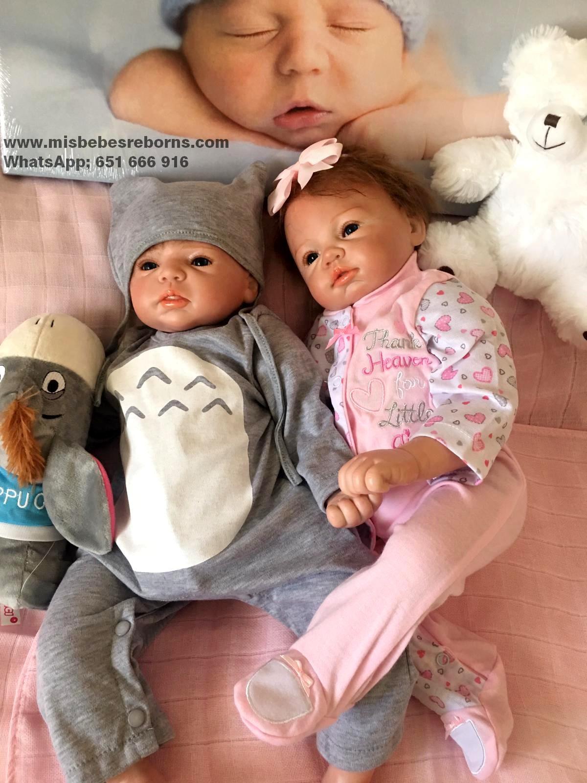 Exclusiva pareja de Mellizos Reborn;  Rebeca y Lucas