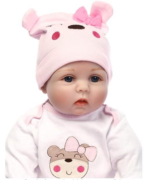 Nueva muñeca Reborn Articulada; Nadiuska