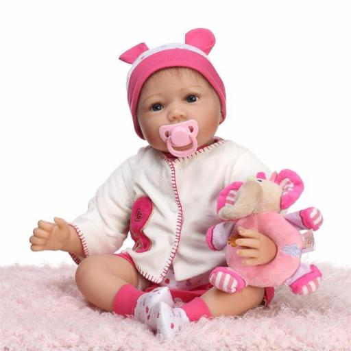 Muñeca Reborn Articulada Despierta; MARTINA [3]