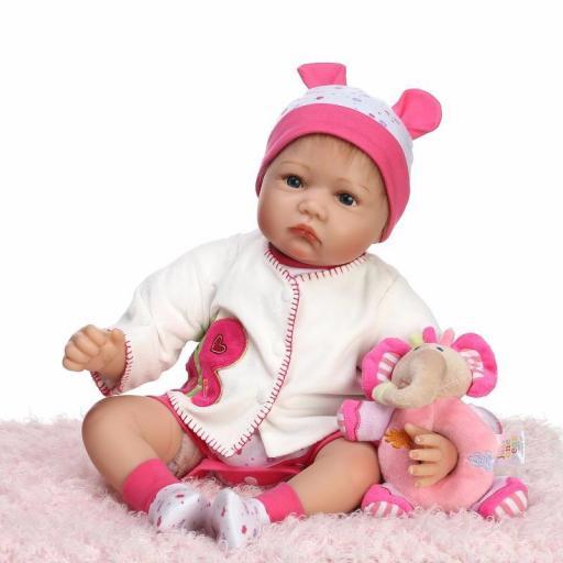 Muñeca Reborn Articulada Despierta; MARTINA