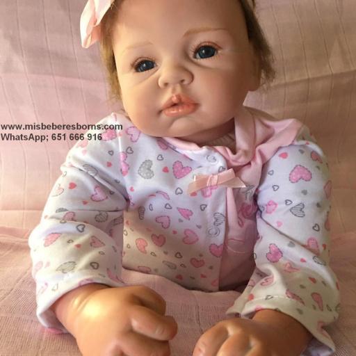 Muñeca Reborn Articulada Despierta; REBECA [3]