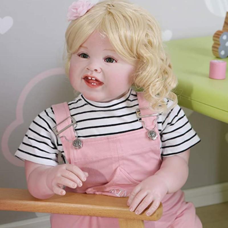 Muñeca Reborn Toddler Articulada; VICTORIA