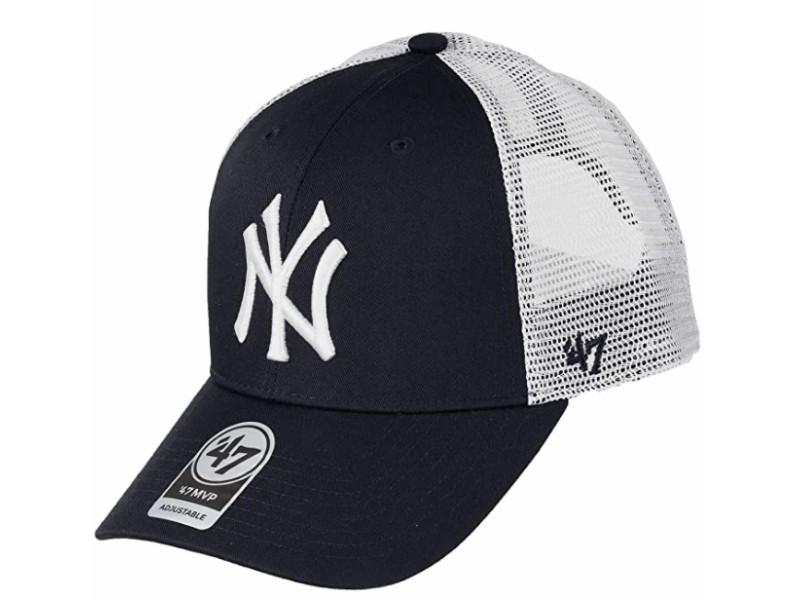 47 BRAND Gorra New York Yankees White Navy