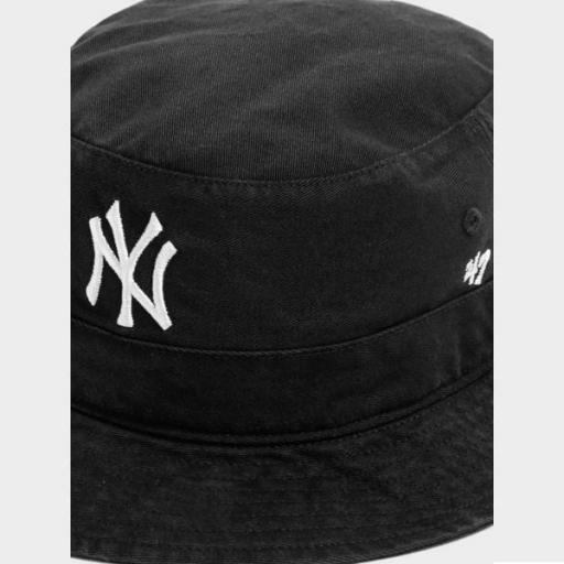 47 BRAND Bucket MLB New York Yankees Black [1]