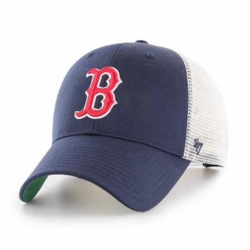 47 BRAND Gorra MLB Boston Red Sox Branson 47 MVP Navy White