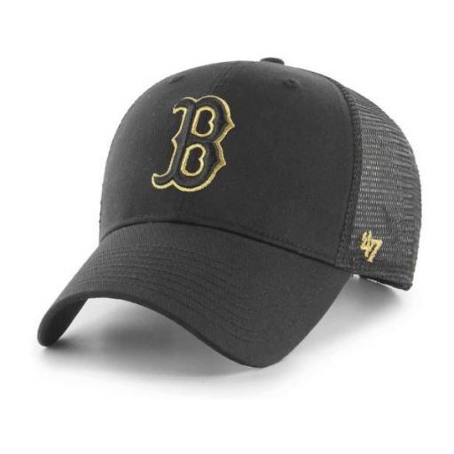 47 BRAND Gorra MLB Boston Red Sox Branson Metallic 47 MVP Black