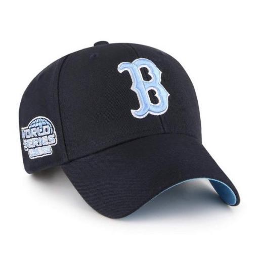 47 BRAND Gorra MLB Boston Red Sox Sure Shot Snapback 47 MVP Navy