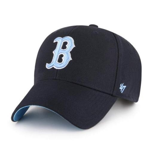 47 BRAND Gorra MLB Boston Red Sox Sure Shot Snapback 47 MVP Navy [3]
