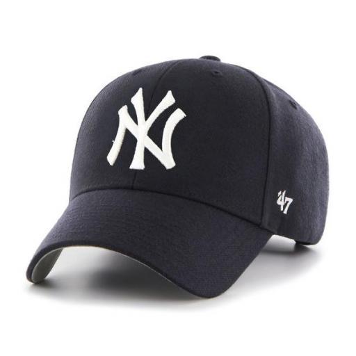 47 BRAND Gorra MLB New York Yankees 47 MVP Navy