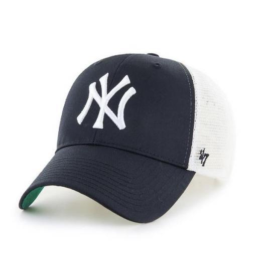 47 BRAND Gorra MLB New York Yankees Branson 47 MVP Black White