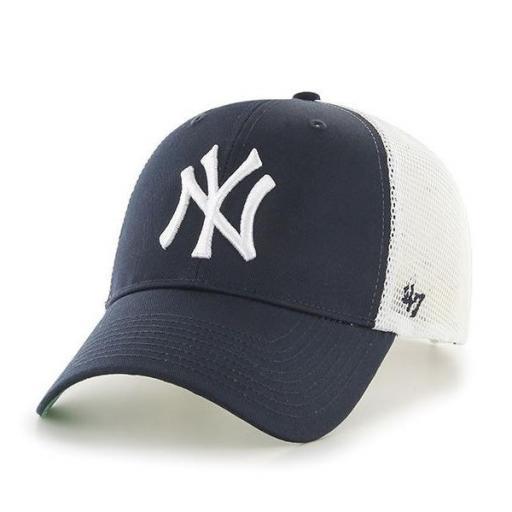 47 BRAND Gorra MLB New York Yankees Branson 47 MVP Navy White