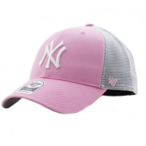 47 BRAND Gorra MLB New York Yankees Branson 47 MVP Rose