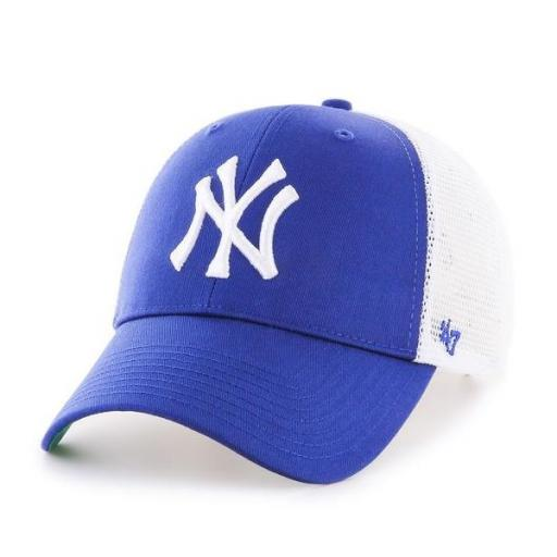 47 BRAND Gorra MLB New York Yankees Branson 47 MVP Royal