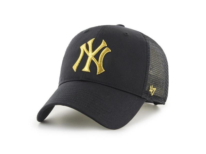 47 BRAND Gorra MLB New York Yankees Branson Metallic 47 Black