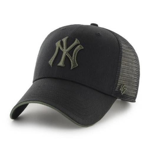 47 BRAND Gorra MLB New York Yankees Dagwood Mesh 47 MVP Black Green