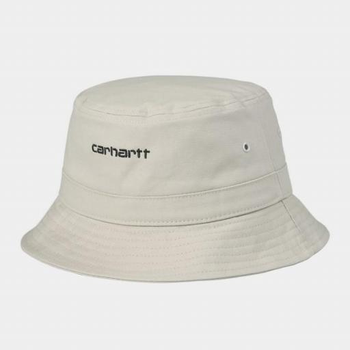 CARHARTT Bucket Script Hat Hammer Black