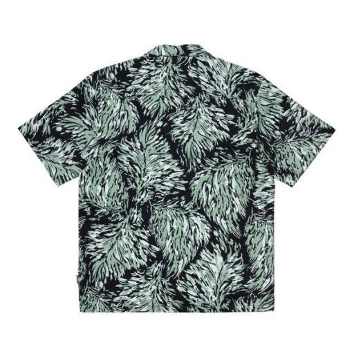 CARHARTT Camisa S/S Hinterland Print Black [1]
