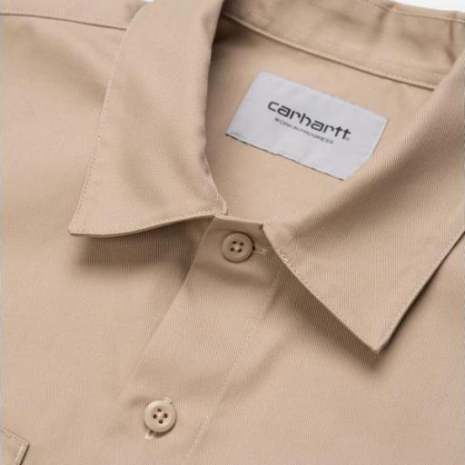 CARHARTT Camisa S/S Master Shirt Wall [2]