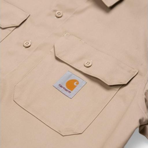 CARHARTT Camisa S/S Master Shirt Wall [3]