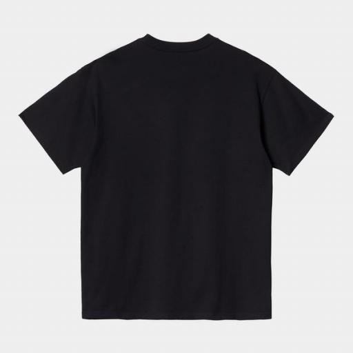 CARHARTT Camiseta S/S American Script Black [1]