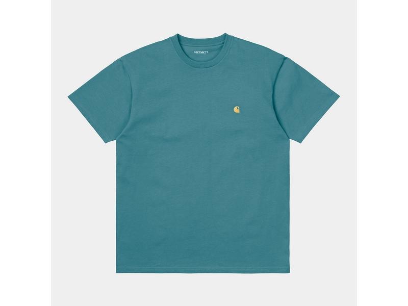 CARHARTT Camiseta S/S Chase Hydro Gold
